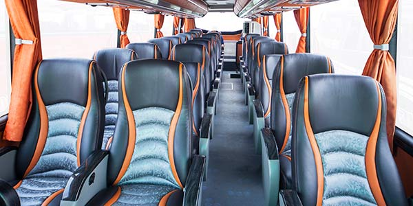 Interior of coach