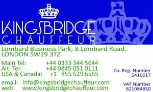 Kingsbridge Chauffeur