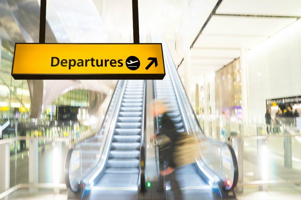 airpot departures