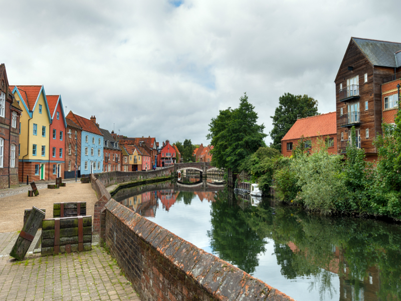 Visiting Norwich