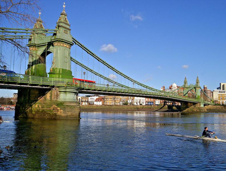 Visiting Hammersmith